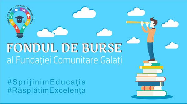 """Galațiul susține educația prin """"Fondul de Burse"""". Contribuie şi tu!"""