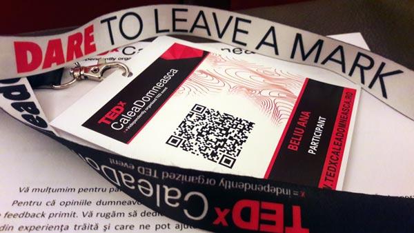 TEDx Calea Domnească: unde, când şi cum să îndrăzneşti să îţi laşi amprenta