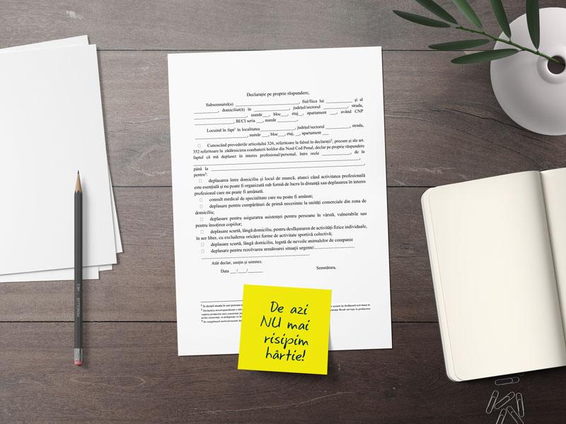 Risipa de hârtie pentru declarații și cele mai bune metode să scăpăm de ea