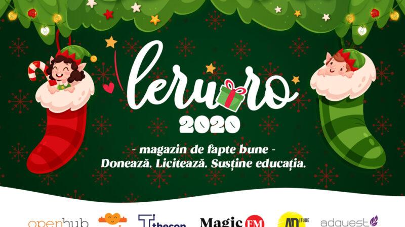 Anul ăsta dăruiește fapte bune! Le găsești în magazinul online Leru.ro